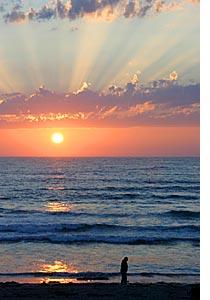 Sunsets Over Oceanside