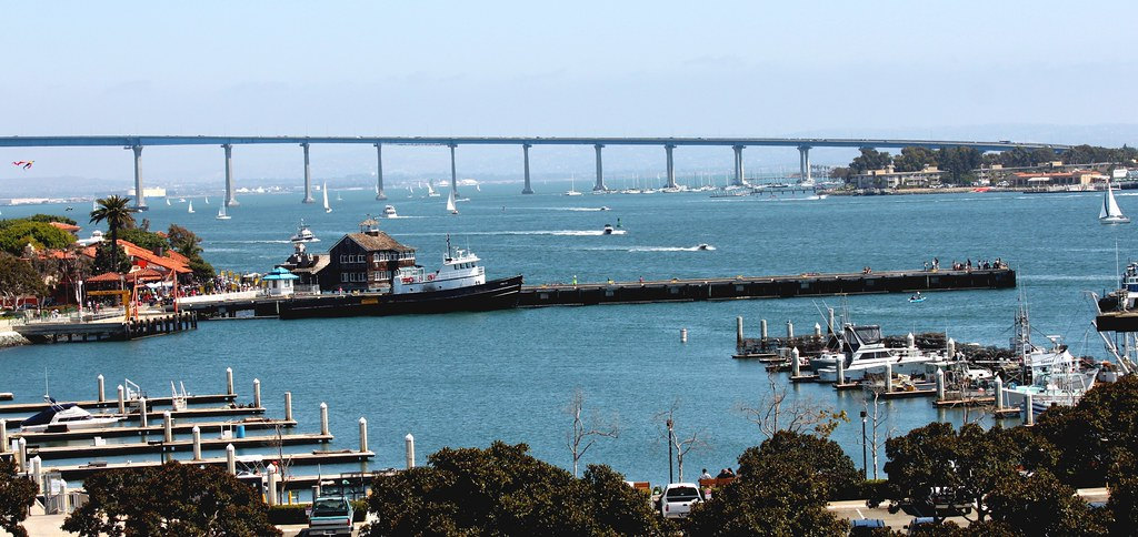 Coronado Bridge & Seaport Village
