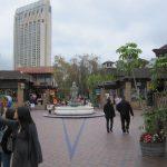 fountain in Seaport Village