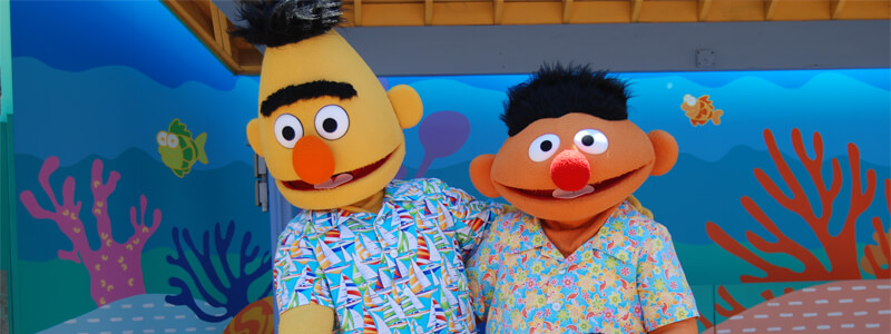 SeaWorld Bert and Ernie